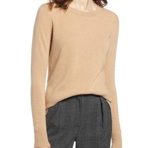 Nordstrom 100% Cashmere Sweater - Medium Petite